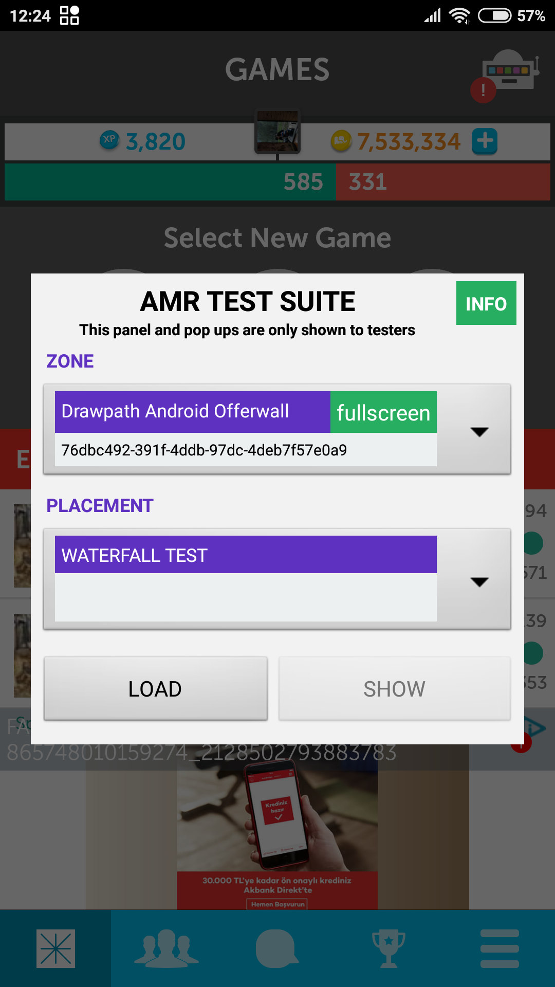Admost - Android Integration